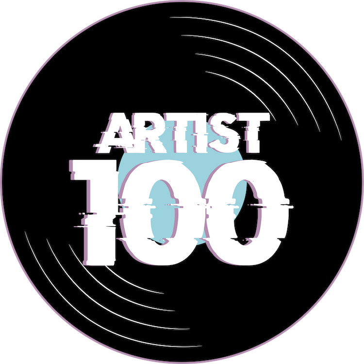 Artist 100 Artist Agency Kuenstler Management Booking Logo Kontakt Kuenstlermanagement Artist Management
